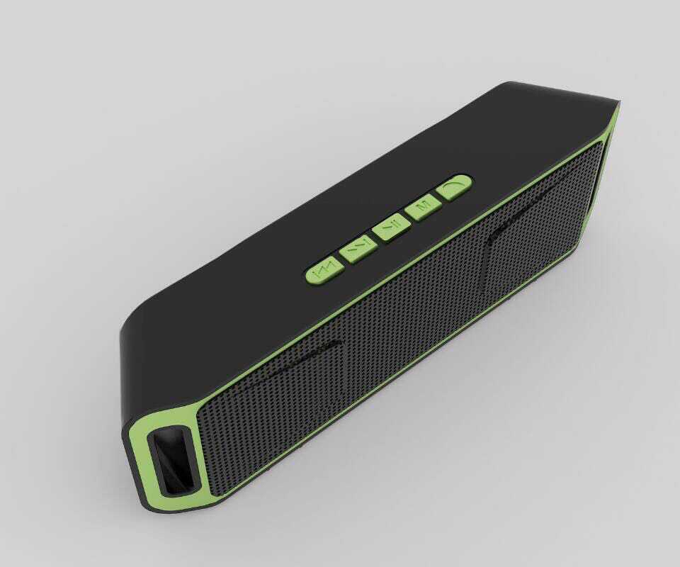 Bluetooth speaker with card reader